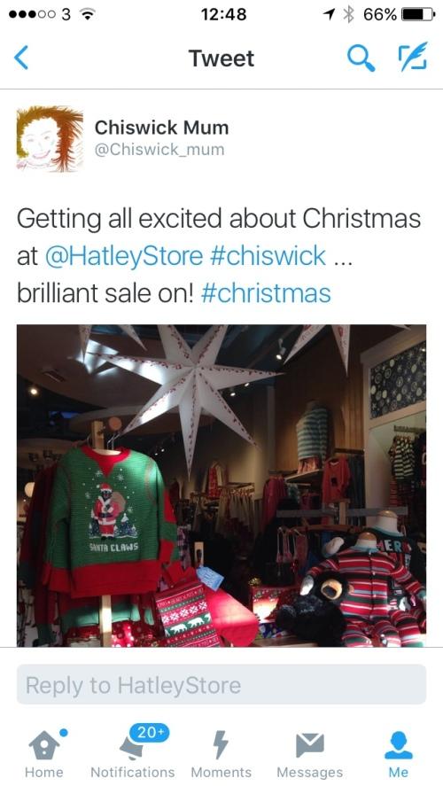 christmas at hatless